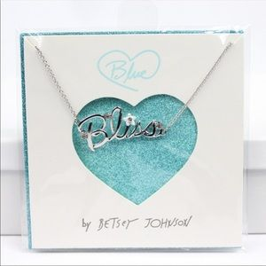 Blue By Betsey Johnson Kitsch Bliss Necklace